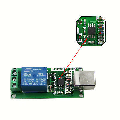 5V/12V USB Relay 1/2/4/8 Channel Programmable Computer Control Smart Home BBC