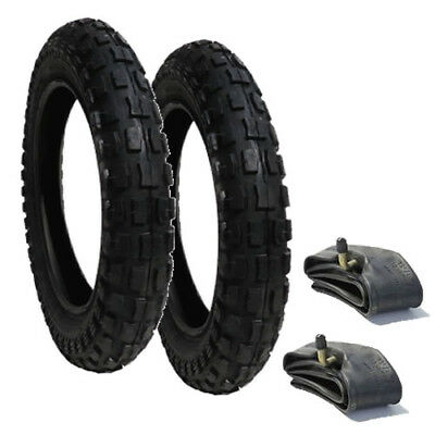 12 1/2 X 2 1/4  Tyre and Inner Tube Set (x2) Heavy Duty - POSTED FREE 1ST CLASS