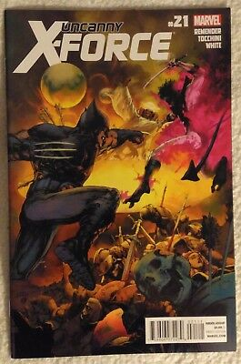UNCANNY X-FORCE (Vol 1) #21 by Rick Remender and Greg Tocchini - MARVEL COMICS