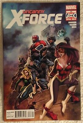 UNCANNY X-FORCE (Vol 1) #23 by Rick Remender and Greg Tocchini - MARVEL COMICS