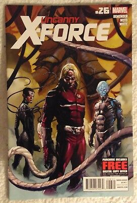 UNCANNY X-FORCE (Vol 1) #26 by Rick Remender and Phil Noto - MARVEL COMICS