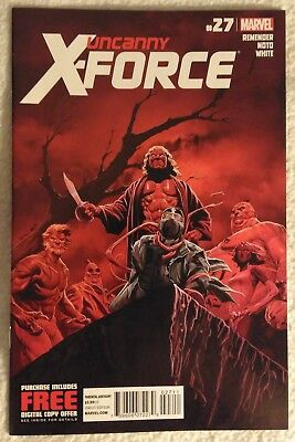 UNCANNY X-FORCE (Vol 1) #27 by Rick Remender and Phil Noto - MARVEL COMICS
