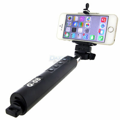 Bluetooth Extendable Handheld Selfie Stick Monopod Zoom for iPhone Samsung Phone