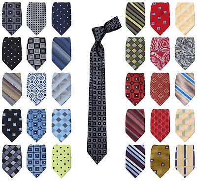 Matching Boys Tie Black-Blue-Green-Red-Yellow