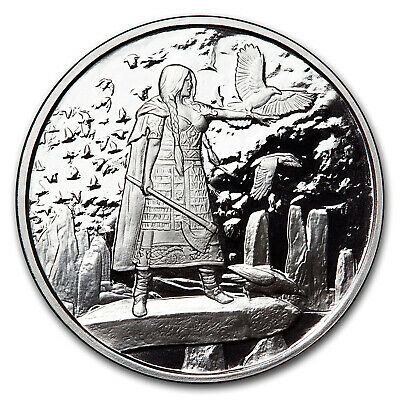 SKU#156164 The Morrigan 5 oz Silver Proof Round Celtic Lore
