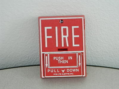 Fire Lite Bg-10 Non-Coded Dual Action Fire Alarm Pull Station
