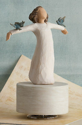 Willow Tree Happiness Musical Figurine by Susan Lordi    26456