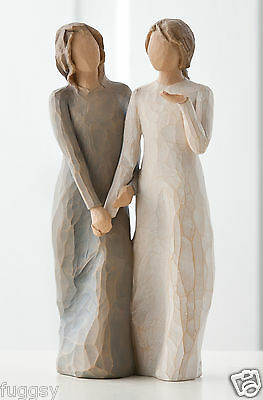 My Sister My Friend Willow Tree Figurine By Susan Lordi  27095