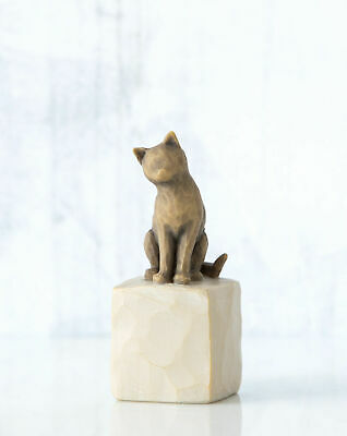 Willow Tree Figurine Love my Cat Always With Me By Susan Lordi  27684