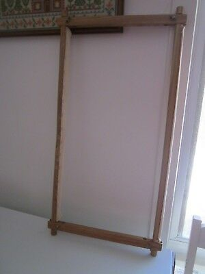 Wooden Tapestry/Long Stitch Frame 60 X 33 CM
