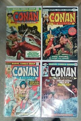 Conan the Barbarian issues #55 56 57 + 119(Marvel,1970s,1980)