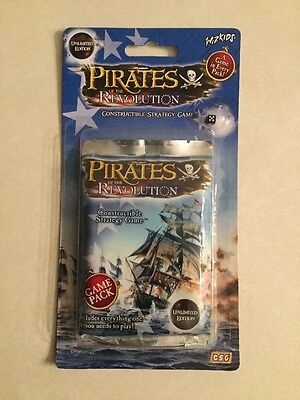 Wiz Kids Pirates : Of The Revolution Booster Game Pack Unlimited Edition