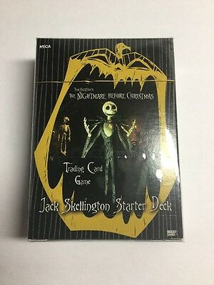 The Nightmare Before Christmas TCG Jack Skellington Starter Deck Sealed