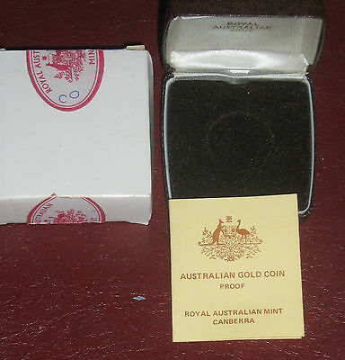 Empty Box for  200 Dollar Proof Coin With Certificate and Outer Box