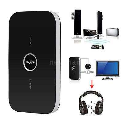 2in1 Wireless Bluetooth Transmitter and Receiver A2DP 3.5mm Audio Player Adapter