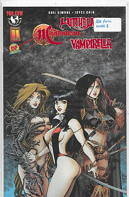 Witchblade Magdalena Vampirella Dynamic Forces Red Cover B Limited to 500 NM