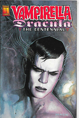 Vampirella Dracula The Centennial Limited David Mack Cover Harris Comics NM-