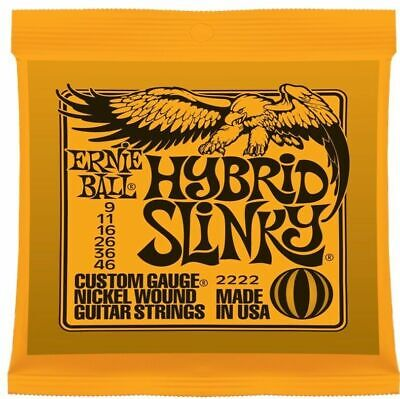 Ernie Ball Hybrid Slinky Nickel Electric Guitar Strings 9 - 46 2222