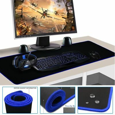 Extra Large XL Gaming Mouse Pad Mat for PC Laptop Macbook Anti-Slip 60cm*30cm UK