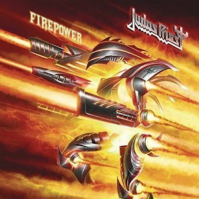 JUDAS PRIEST 'FIREPOWER' Deluxe CD (Hardcover Book Edition) (2018)