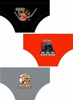 Kids Boys Star Wars Angry Birds Space Underwear Pants Briefs Size 3 - 10 Years