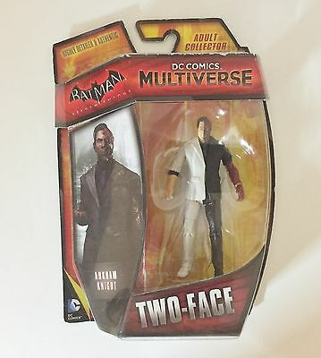 "Multiverse DC Comics Batman Arkham Knight - Two-face 3.75"" Inch Action Figure"