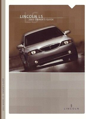 lincoln ls owners manual