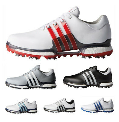 adidas Tour 360 Boost 2.0  WIDE FIT LEATHER WATERPROOF GOLF SHOES