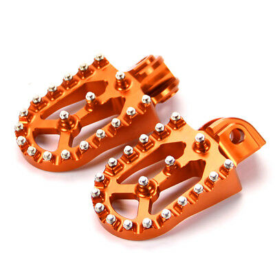 For KTM 125/200/250/350/450/525/530 SX SXF XCW EXC Foot Pegs Footrest Motorcross