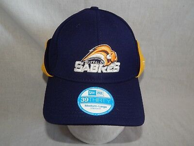 c23528e7c8b NEW Buffalo Sabres NHL Hockey New Era 39Thirty Hat Downflap Vintage Cap Size  M L