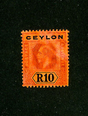 Ceylon Stamps # 213 VF Used Scott Value $105.00
