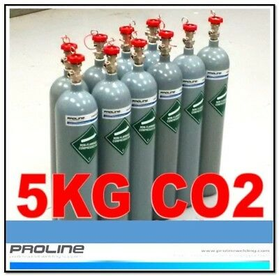 co2 welding cylinder supplied  full