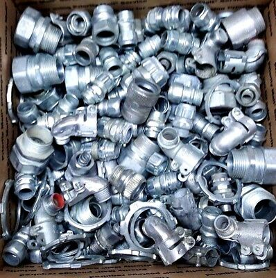 Sigma Electrical Conduit Fittings, Adapters Huge Bulk Liquidation Parts Lot #2