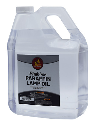 Paraffin Lamp Oil 1 Gallon (Smokeless Odorless Liquid Paraffin)