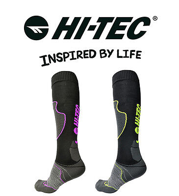 Hi-Tec Neuf Ice Thermo Chaussettes Chaude (S) Épais Hiver Sport Ski Loisirs