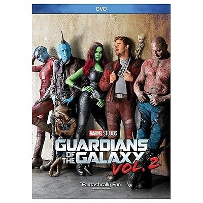Guardians of the Galaxy Vol. 2 DVD 2017 New & Sealed FREE Shipping!