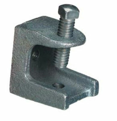 GR Electro Galvanized Malleable Iron Beam Clamp,4 In,Galv Malleable Iron 22FP81