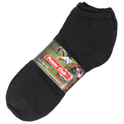 Mens Athletic Sports Performance Socks Solid Low Cut Crew Peds Cushioned