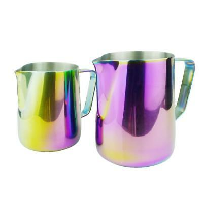 600ml Stainless Steel Coffee Pitcher Latte Milk Art Frothing Jug Multi-color