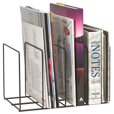 Marbig Wire Instyle Book/Magazine Rack Holder 4 Slot Desk Organiser Office/Home