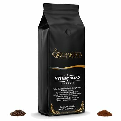 Medium Roast Fresh Coffee Freshly Roasted Weekly Whole Beans or Ground 1 Kg Bag
