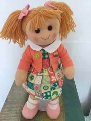 Amelia: Hopscotch Collectibles Rag Doll
