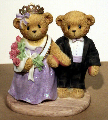 Cherished Teddies ALISA & ANTHONY 864358 RARE Expo Excl LE 2255 of 3000 MIB