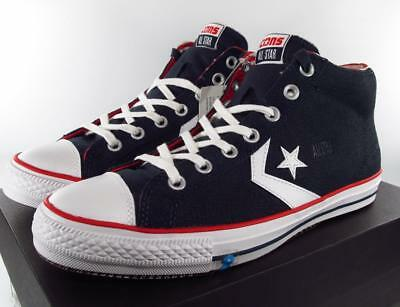 Converse Cons Star Player Skate All Star Mid Americana USA Flag NAVY 140707C a40000d20