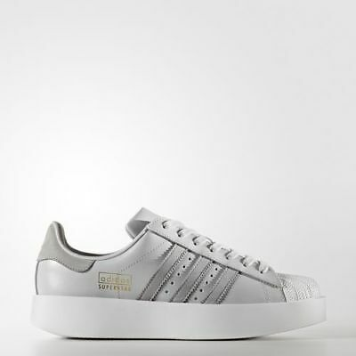 separation shoes 19742 bc2c5 Adidas CG3694 Women Superstar Bold Running shoes grey white sneakers