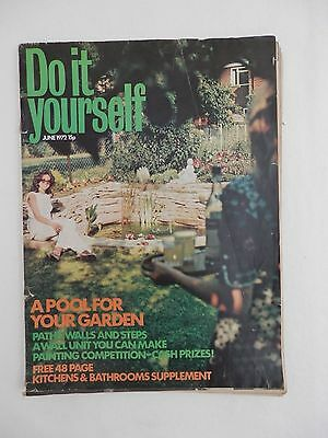 1972 june diy do it yourself magazine retro vintage garden advert 1972 june diy do it yourself magazine retro vintage garden advert paint pool solutioingenieria Image collections