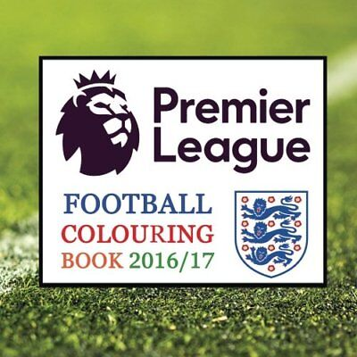 Premier League Football Colouring Book: All the Premiership ... by Jackson, Andy