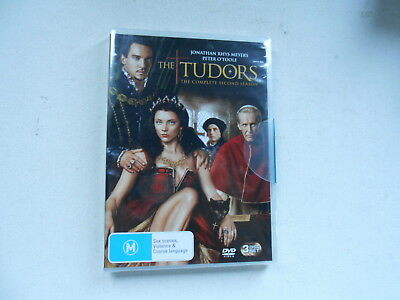 The Tudors-The Complete Second Season-3 Dvd Set-New/Sealed-Peter O'toole-S.neill