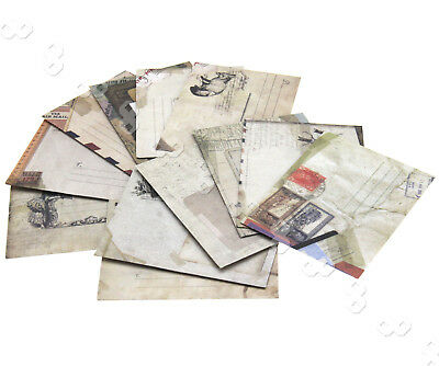 12pcs Kraft Paper Mini Vintage Envelopes For Cards Tags Gift Thank You Wishes