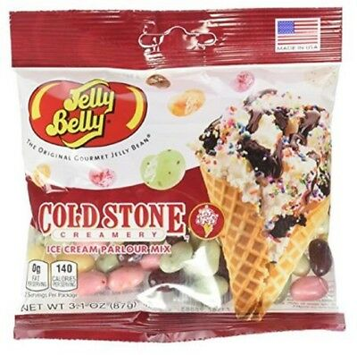 Jelly Belly Cold Stone Ice Cream Parlor Mix JellyBelly Jelly Beans 87gm Bag NEW